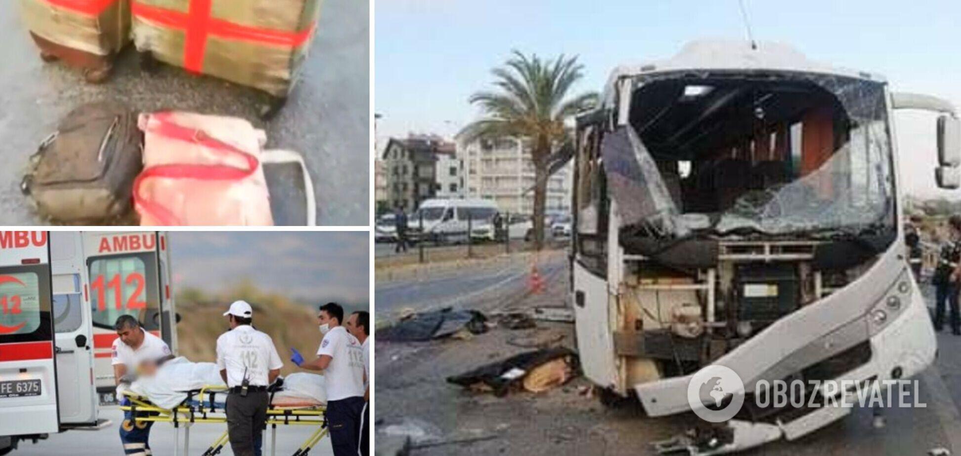 В Турции перевернулся автобус с туристами, есть погибшие и много пострадавших. Фото