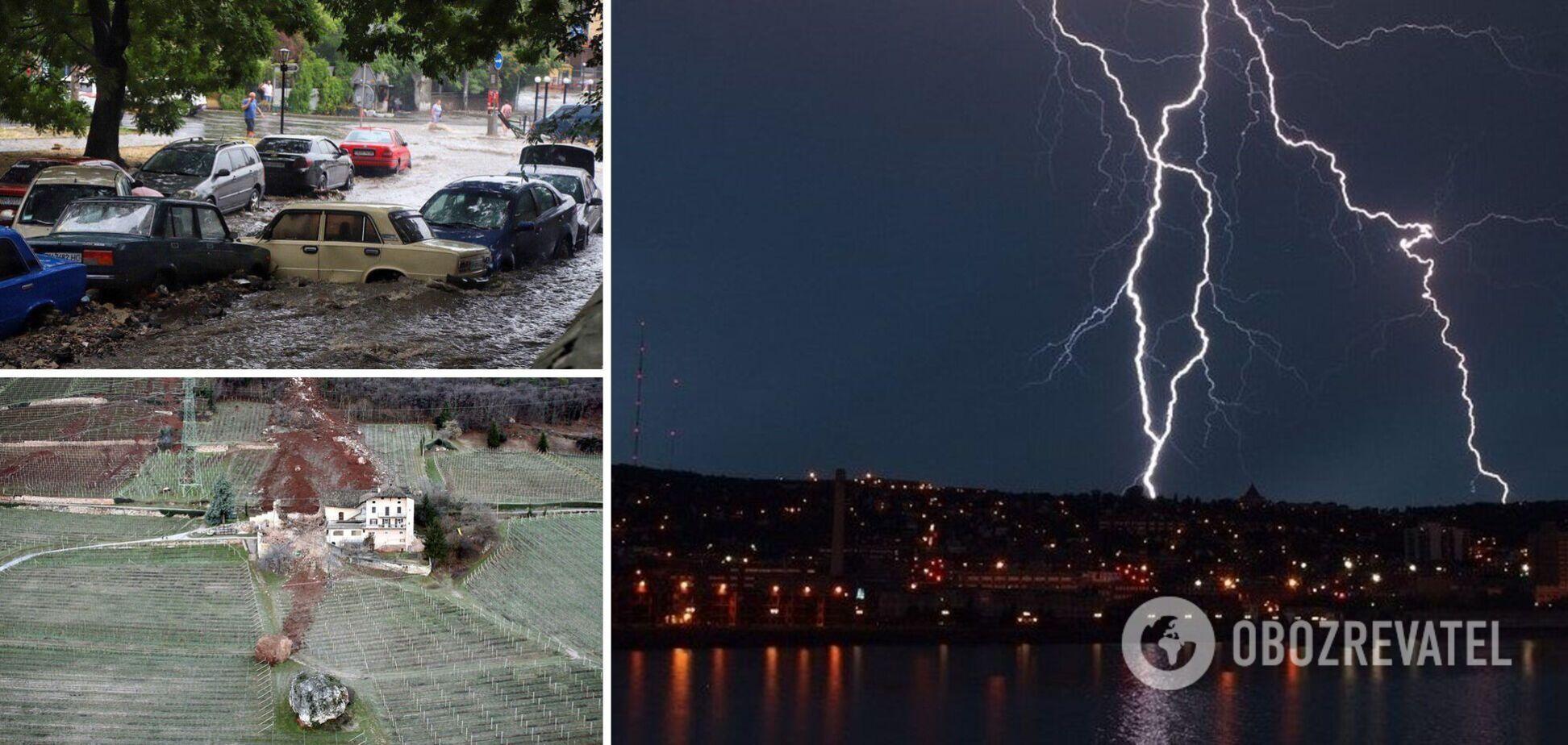 Люди опублікували фото після стихійного лиха