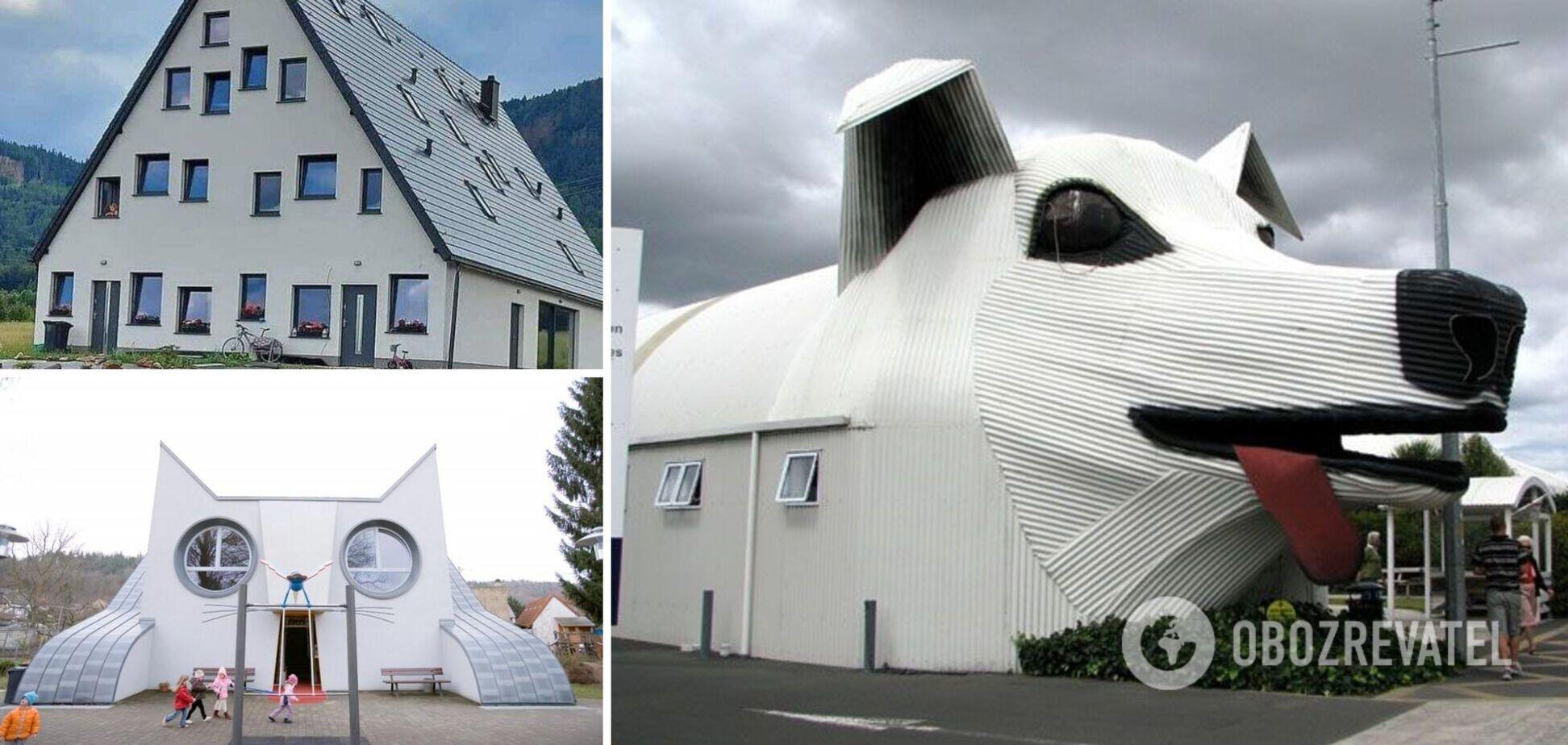 Будинки у вигляді тварин привертають увагу