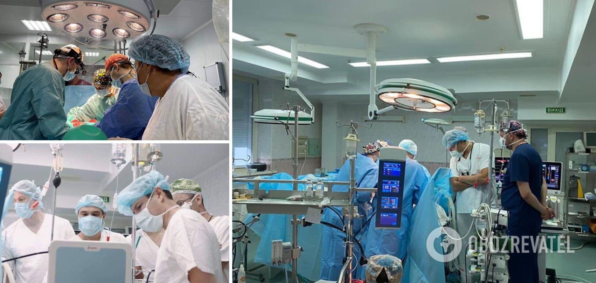 Черкаські медики вперше провели операції з пересадки серця і нирок. Фото