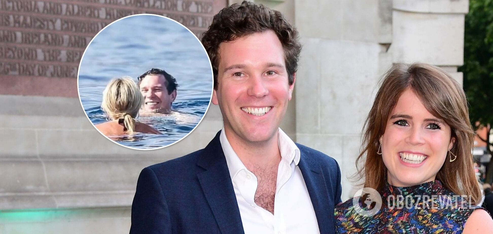 Мужа принцессы Евгении поймали на яхте с тремя моделями