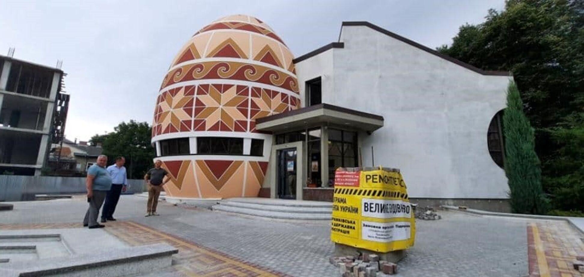 Ко Дню независимости 'Большая стройка' капитально отремонтирует Музей писанки в Коломые