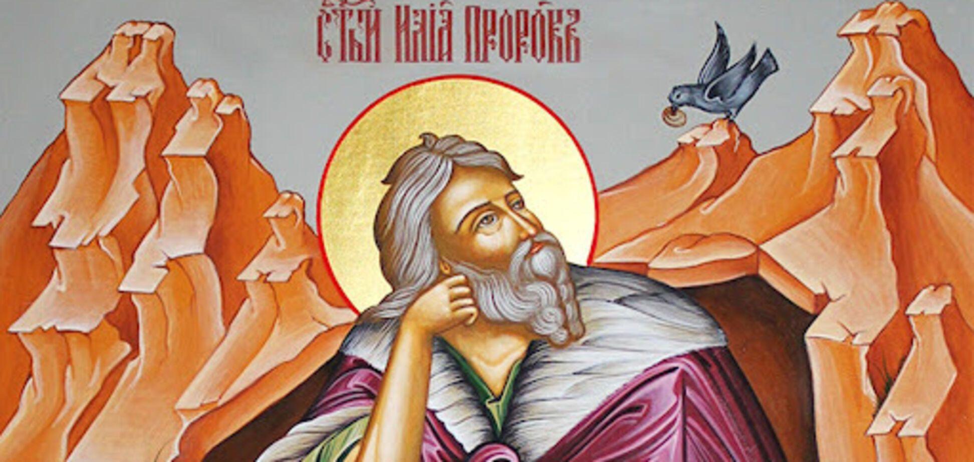 Считается, что святой пророк Илья вознесся на небо на огненной колеснице
