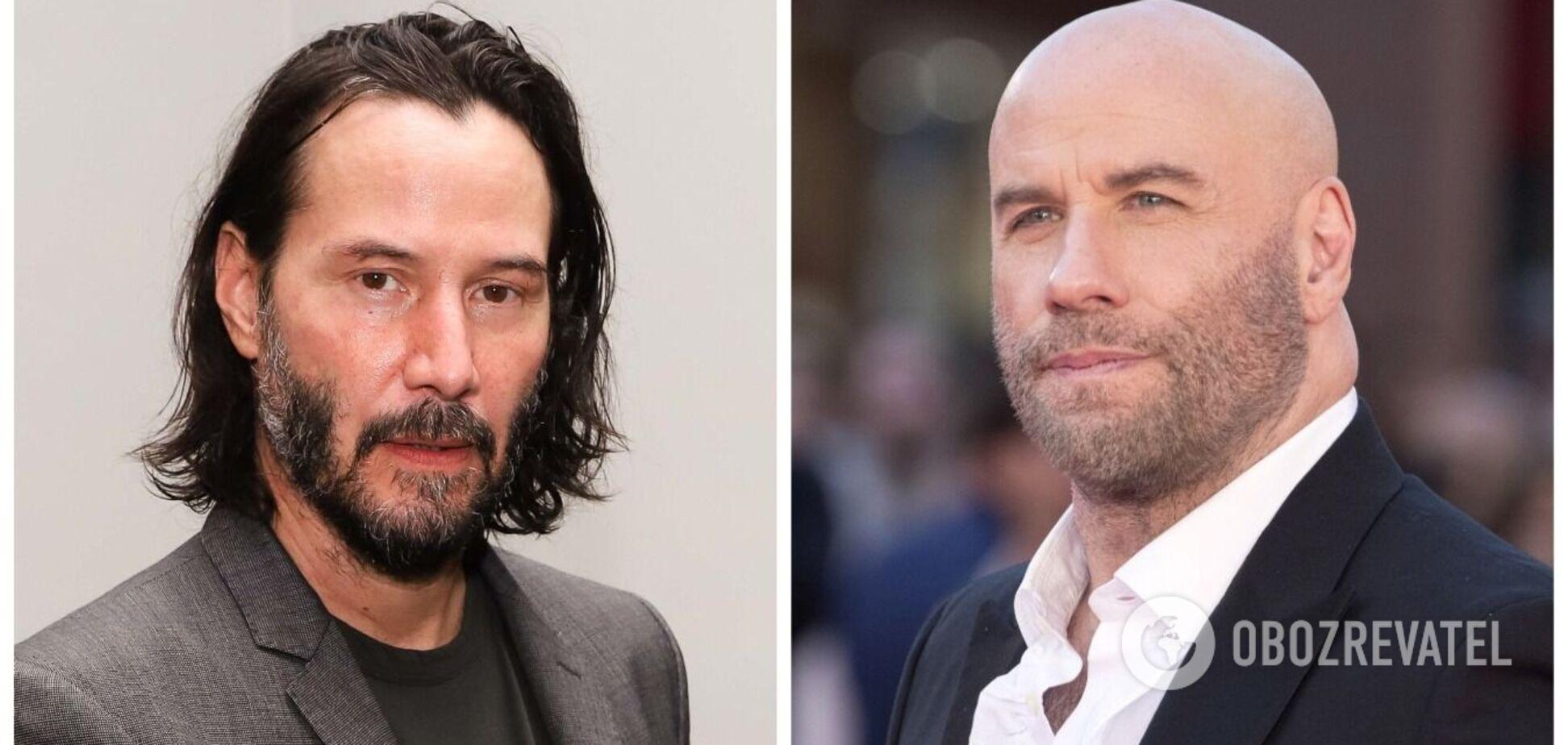 Как изменились самые красивые актеры за 20 лет: постаревший Керри, толстяк Траволта и красавчик Ривз