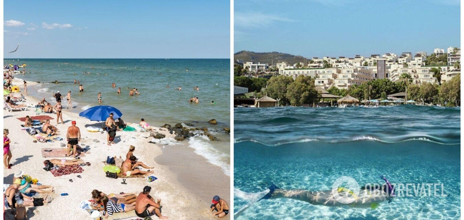 Кирилловка или Бодрум: сравнение цен на отдых, отелей и пляжей. Фото