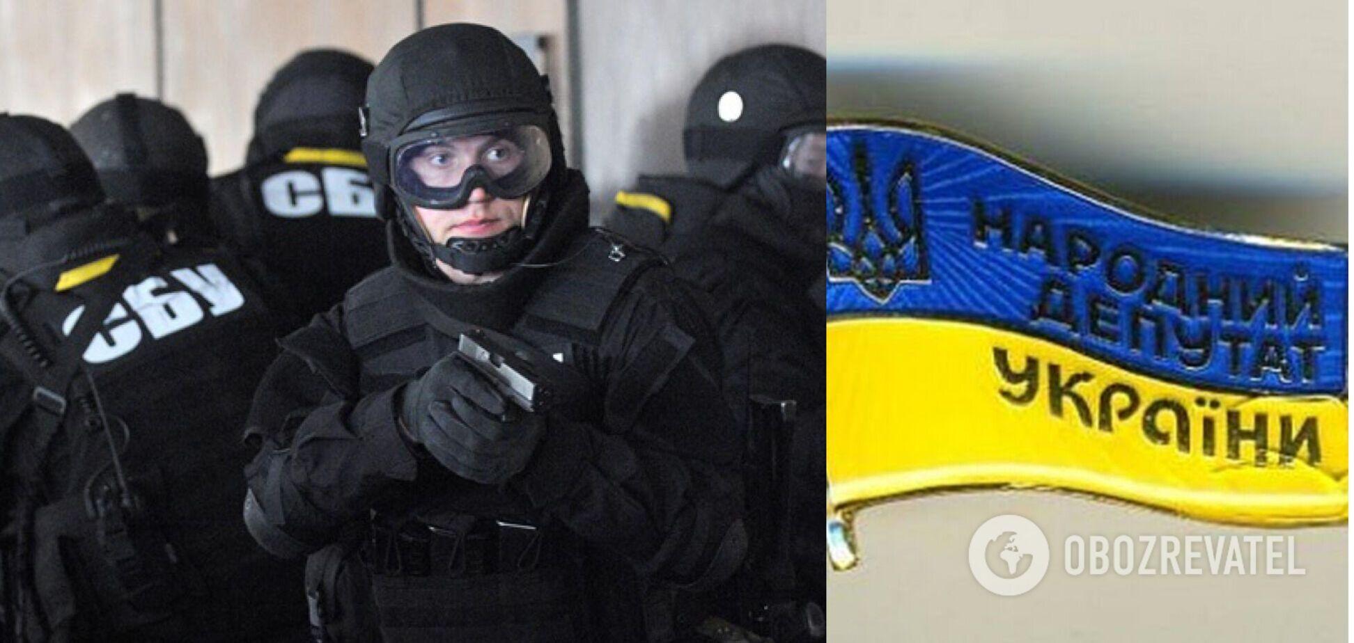СБУ прекратила деятельность силового центра 'титушек', которых контролировал известый нардеп. Фото