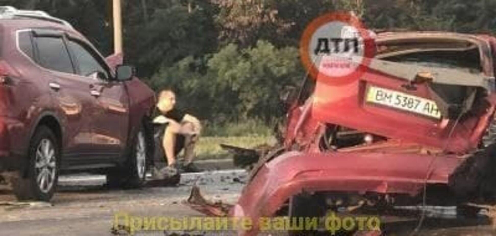Масштабна аварія на Броварському проспекті