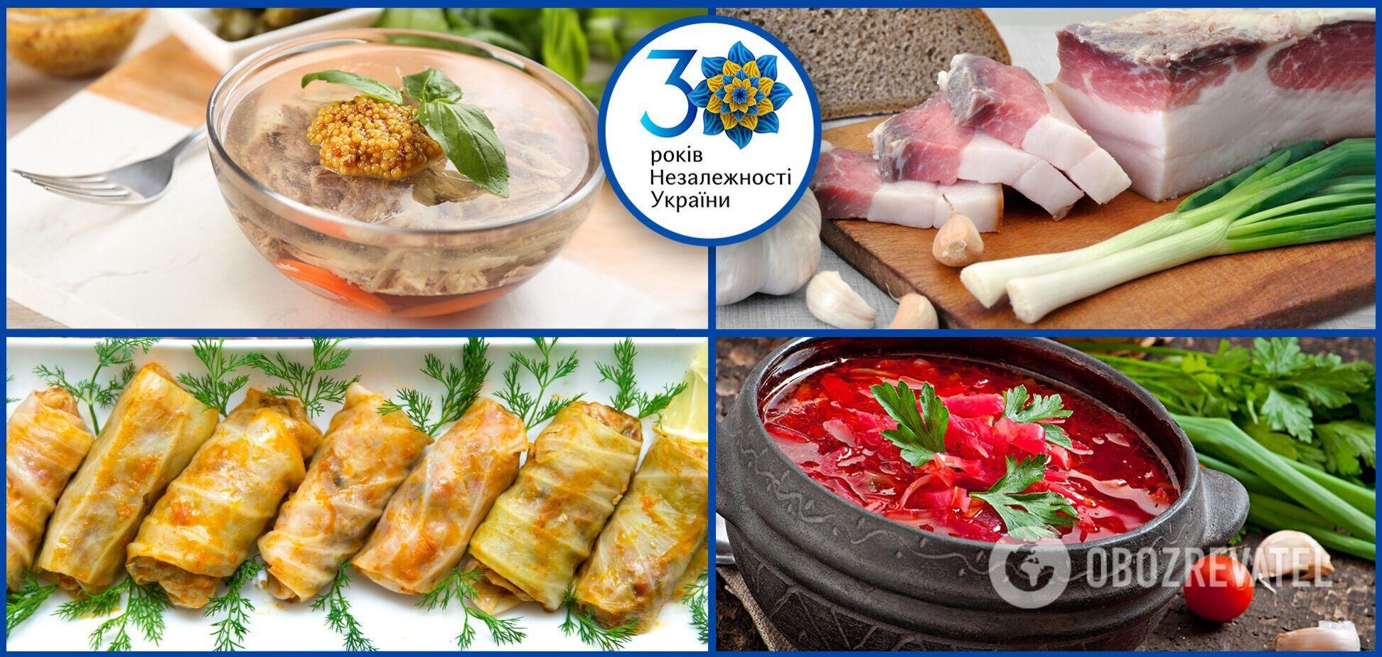 Национальные украинские блюда