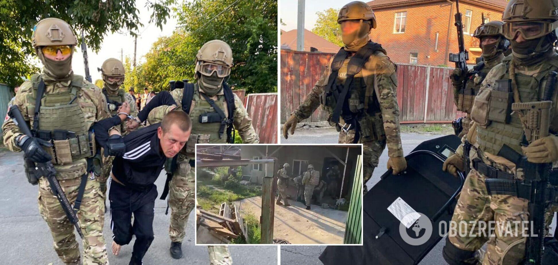 Поджег дом жены и угрожал гранатой: на Киевщине полицейские предотвратили трагедию. Фото