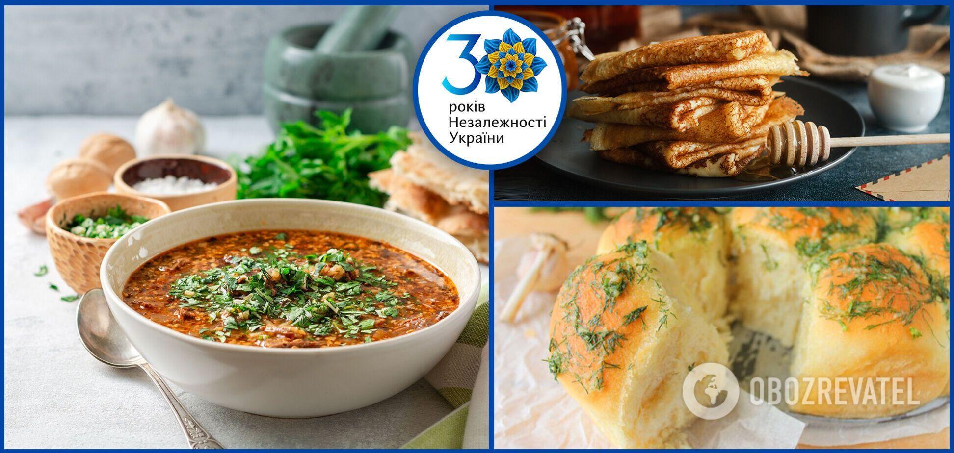 Популярные блюда, которые готовят современные украинцы