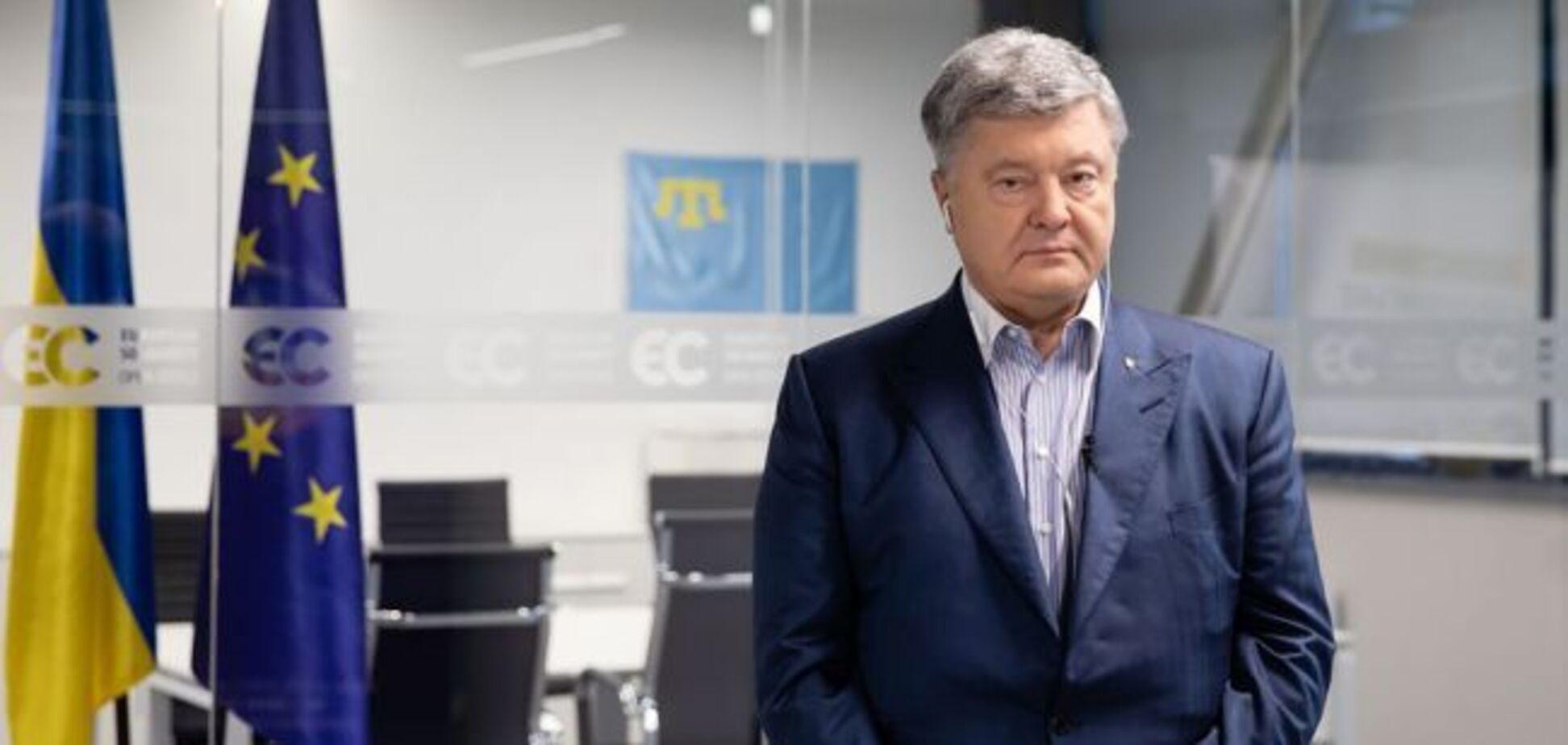 Порошенко - единственный украинский президент, котоый свободно общался на английском на международном уровне