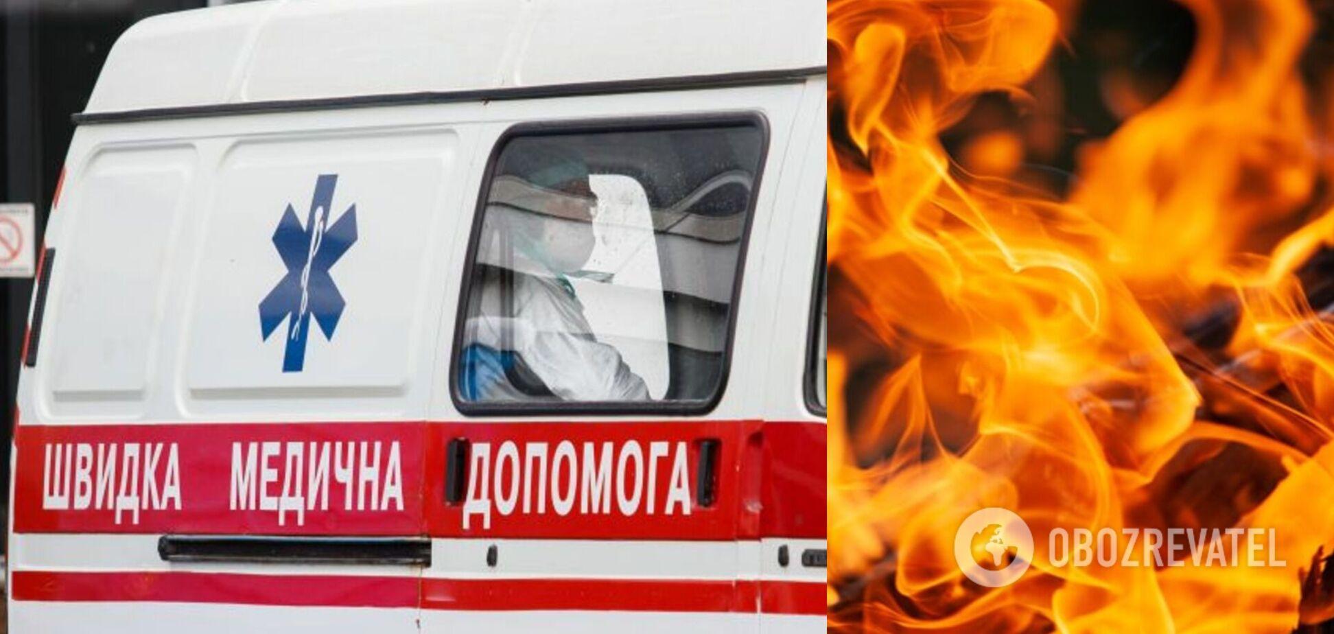 Вибила двері й кинулася на допомогу: на Миколаївщині жінка винесла з вогню трьох дітей