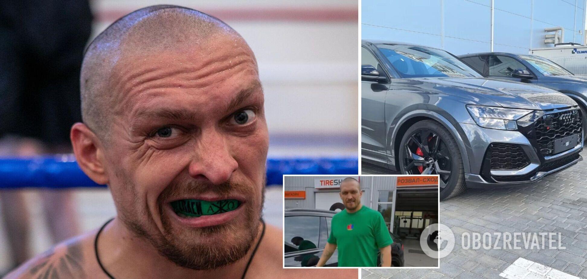 Усик купив елітне авто за 4 млн. Фото та відео