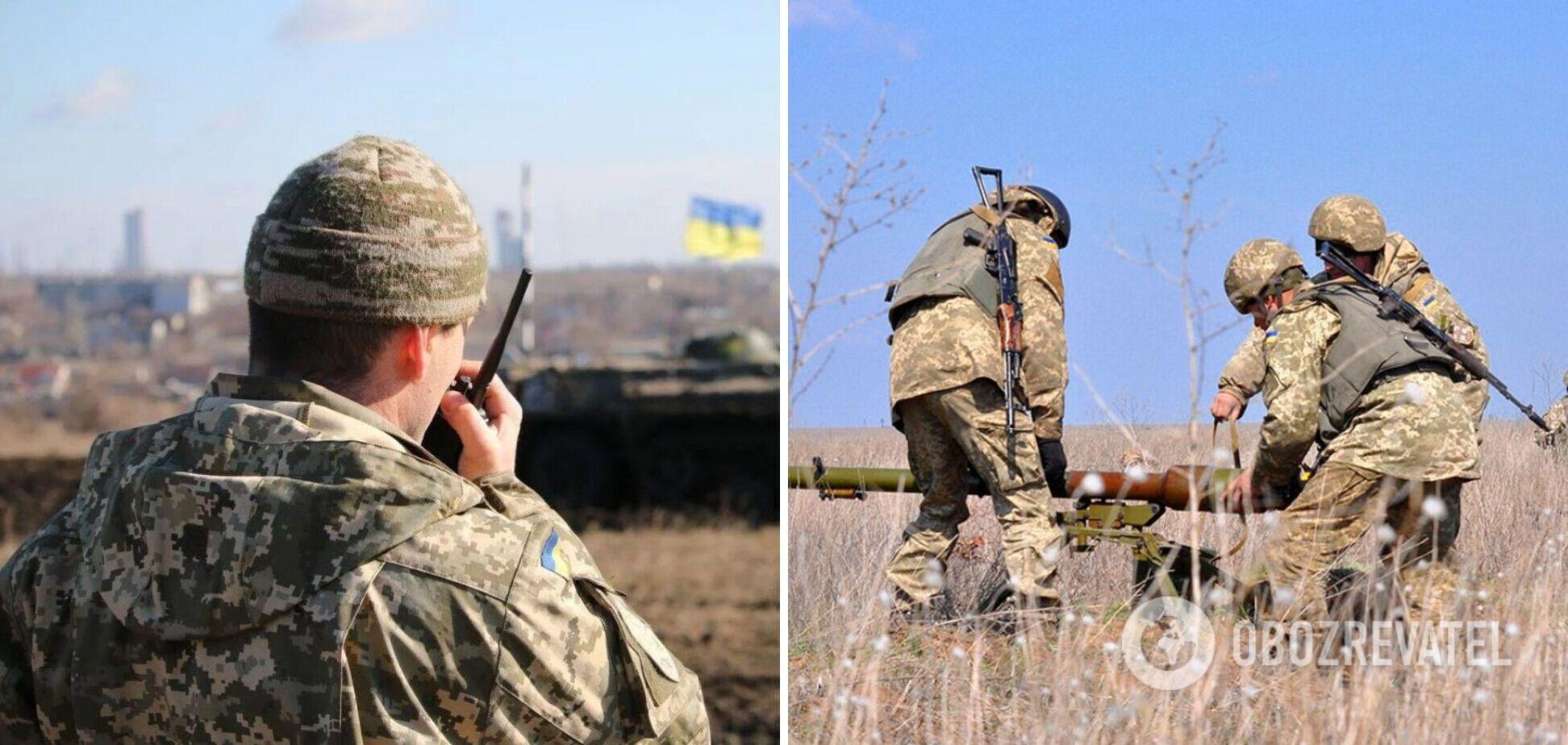 Оккупанты обстреляли позиции ВСУ на Донбассе, украинские военные открыли огонь в ответ – штаб ООС