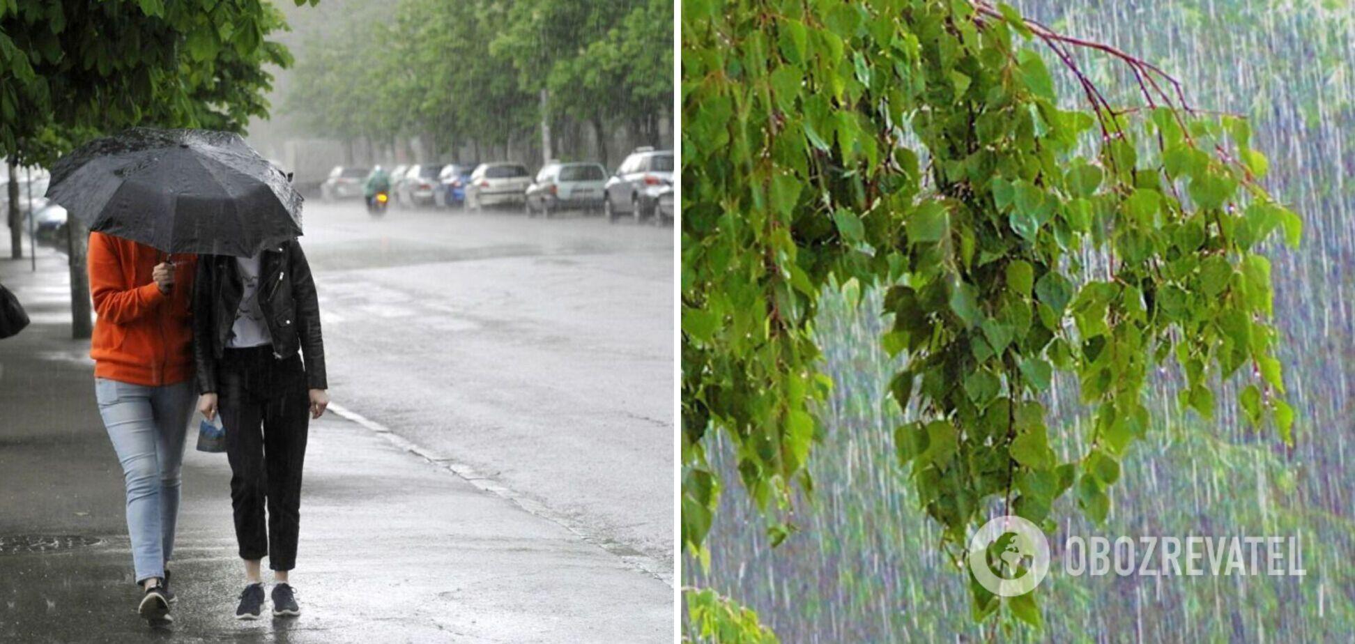 Конец месяца ожидается дождливым