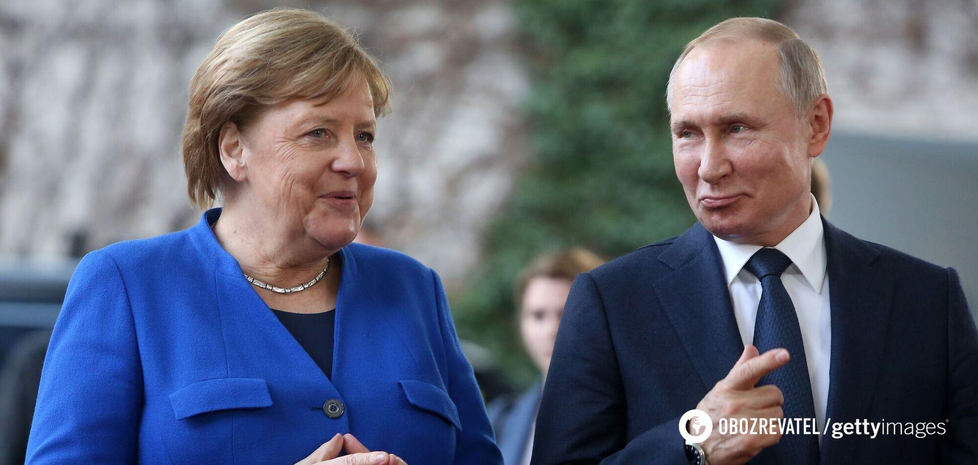 Застой 'нормандского формата' и 'Северный поток-2': главные заявления Меркель и Путина. Фото и видео