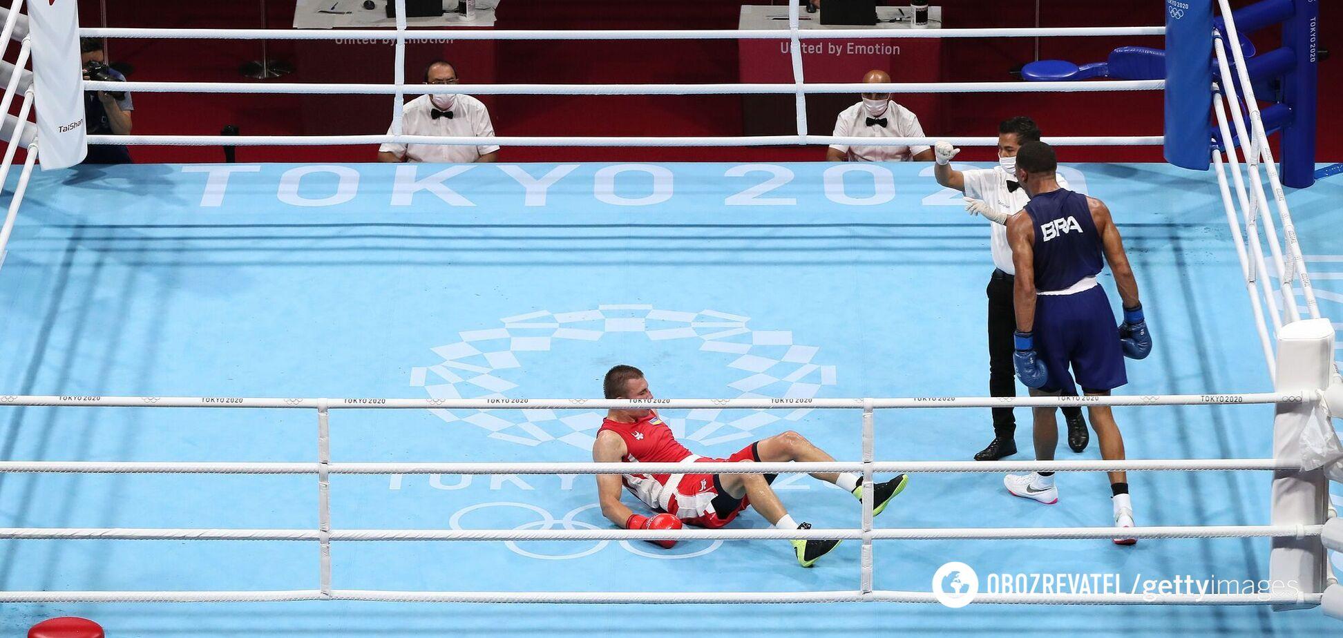 'Боюсь ли я?' Боксер Хижняк, проигравший нокаутом финал Олимпиады-2020, объявил решение по своей карьере