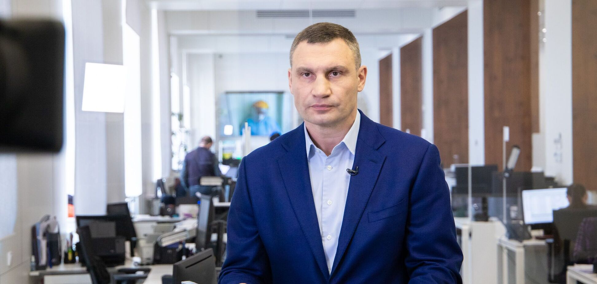 Мэр столицы уехал в Черниговскую область