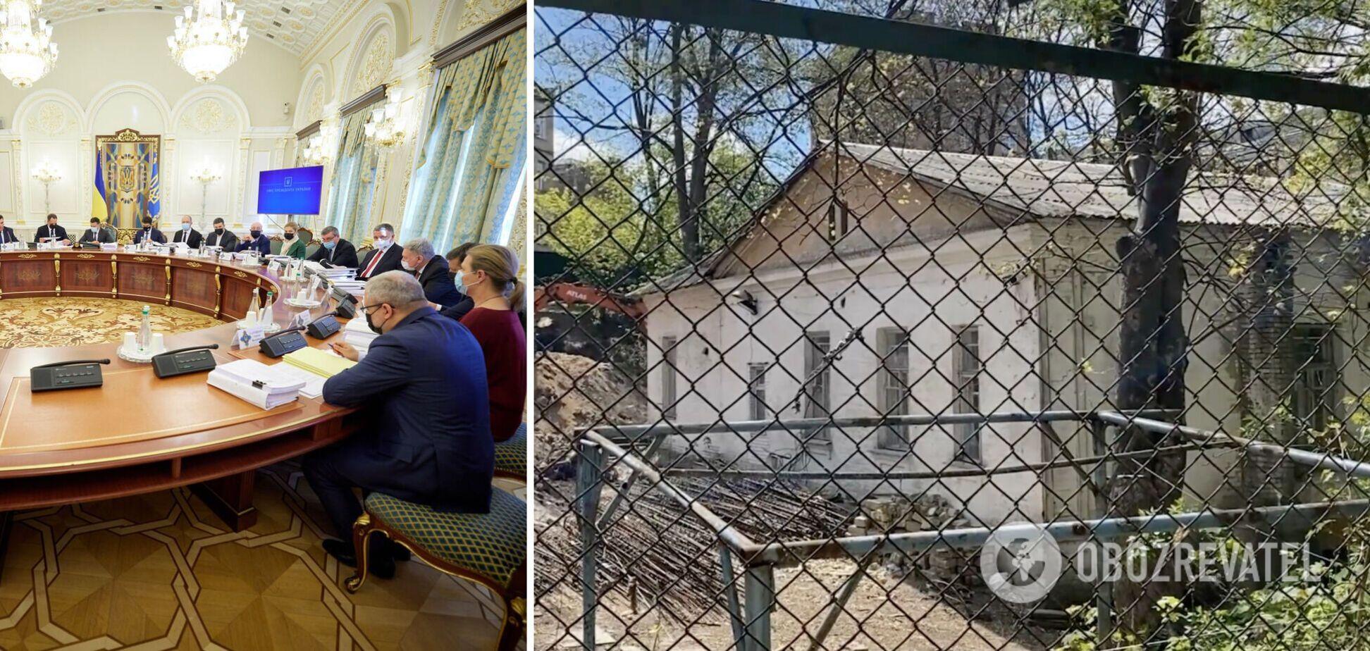 РНБО ухвалила рішення щодо садиби Барбана