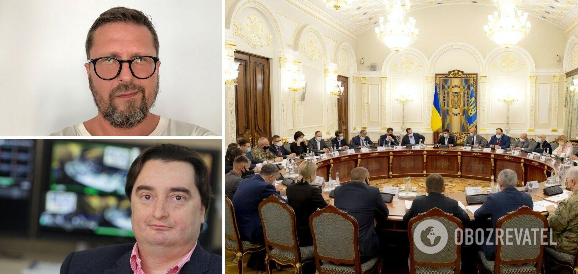 СНБО ввел санкции против Шария, Деркача и Гужвы: 'Страну' закрыли. Все подробности