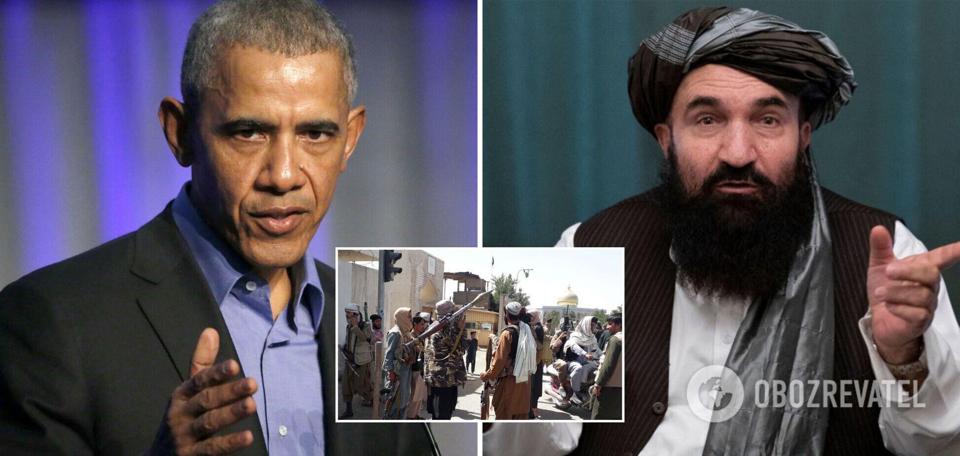 Освобожденный Обамой террорист причастен к захвату Афганистана
