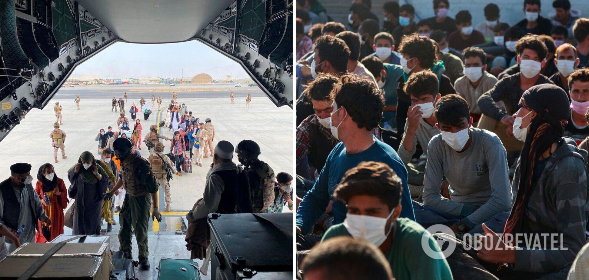 Украина решила принять часть беженцев из Афганистана