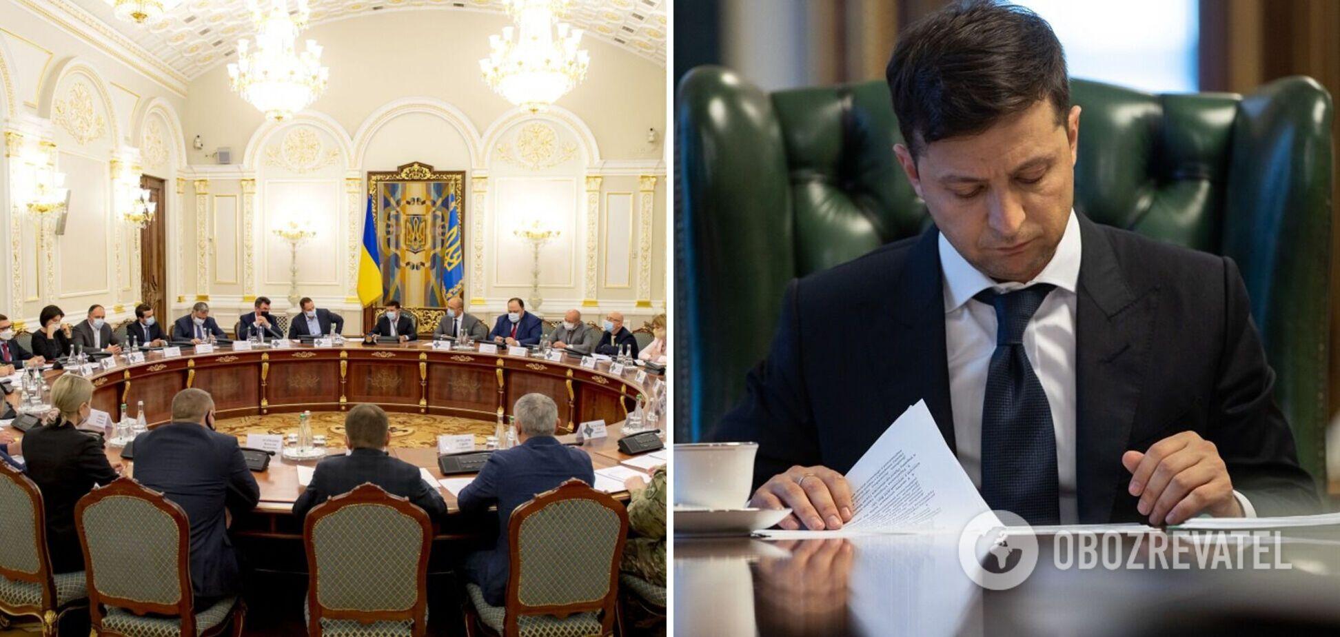 СНБО соберется на заседание 15 октября: появились подробности