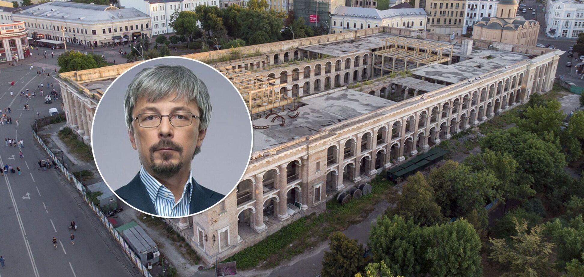 Знищення об'єктів культурної спадщини: до Олександра Ткаченка накопичилось багато запитань