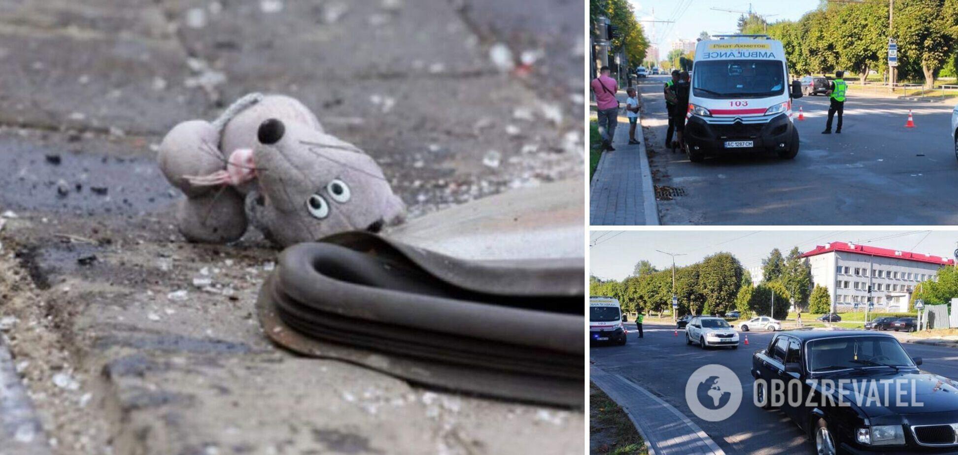 В Луцке автомобиль сбил 7-летнего мальчика