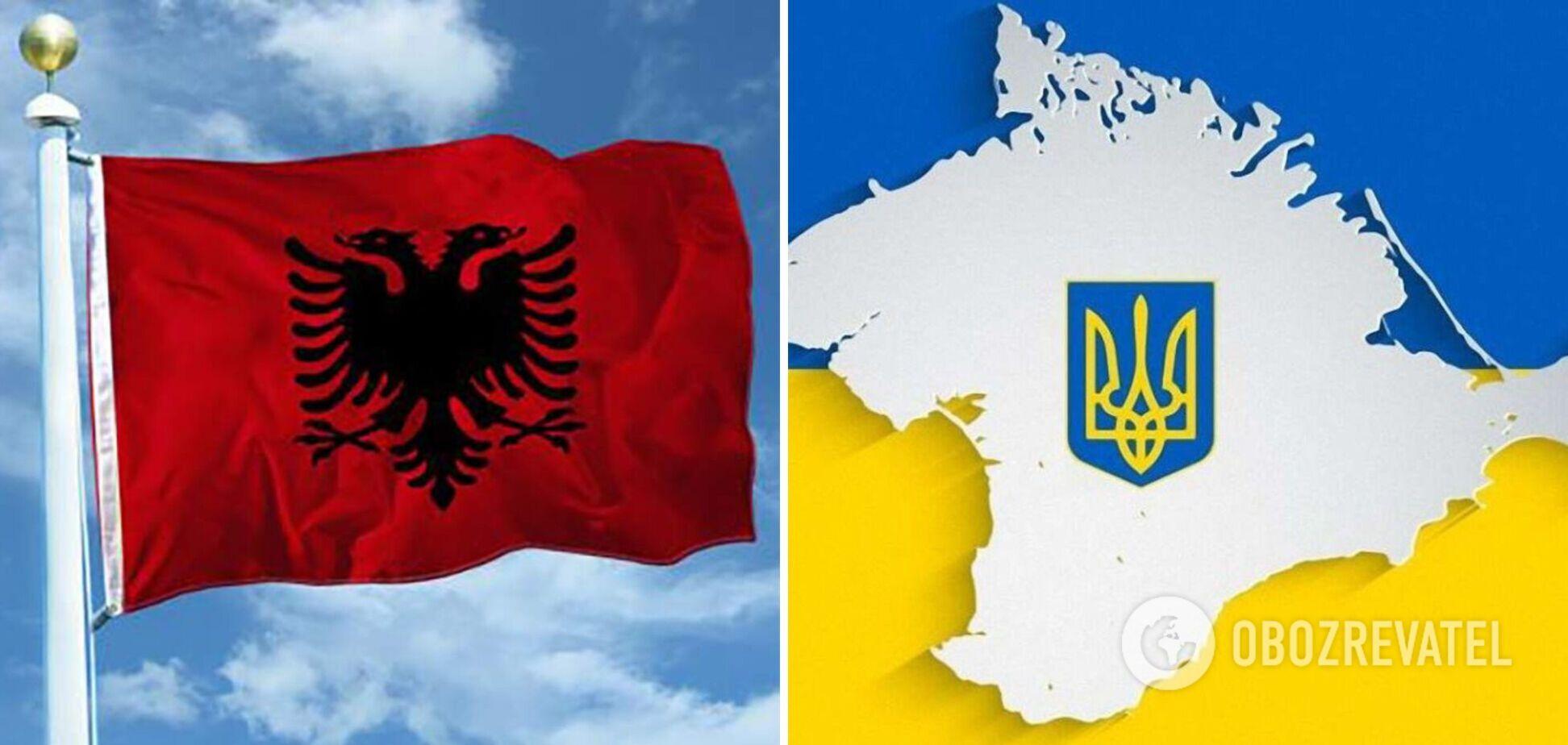 Албания подтвердила участие в Крымской платформе