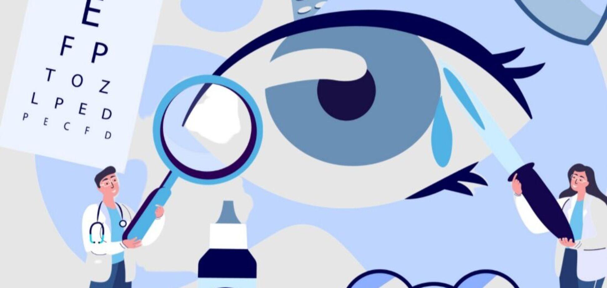 Глазные капли при катаракте: исследование