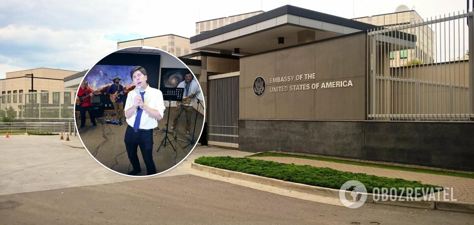 В посольстве США поздравили с Днем Независимости, спев песню на украинском языке. Видео