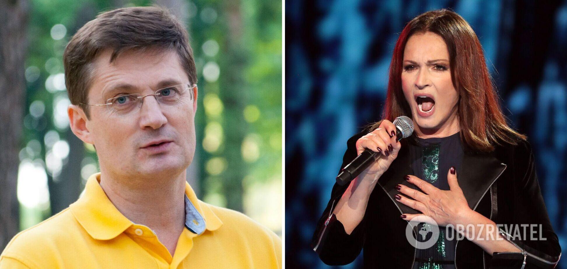 Кондратюк розкритикував Ротару і висловився проти її участі в концерті до Дня Незалежності