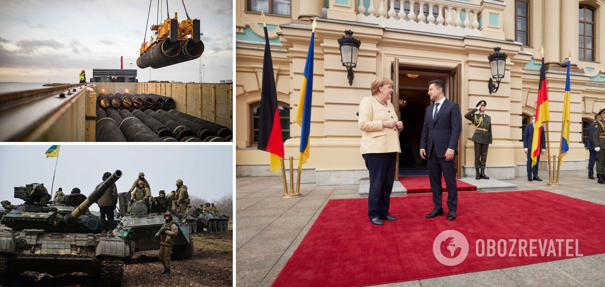 Танці навколо Путіна: що Меркель пообіцяла Зеленському і чим пригрозила РФ. Головні тези переговорів у Києві
