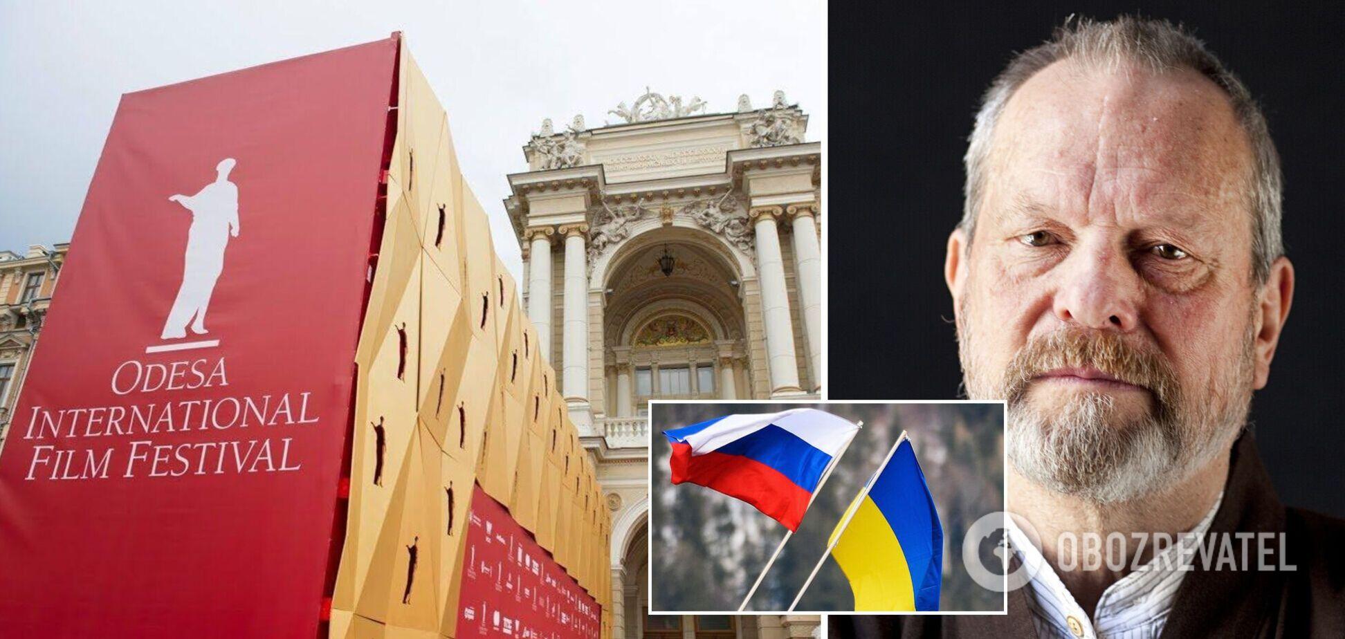 Знаменитий режисер в Одесі подякував Росії, але отямився під крики 'Слава Україні'