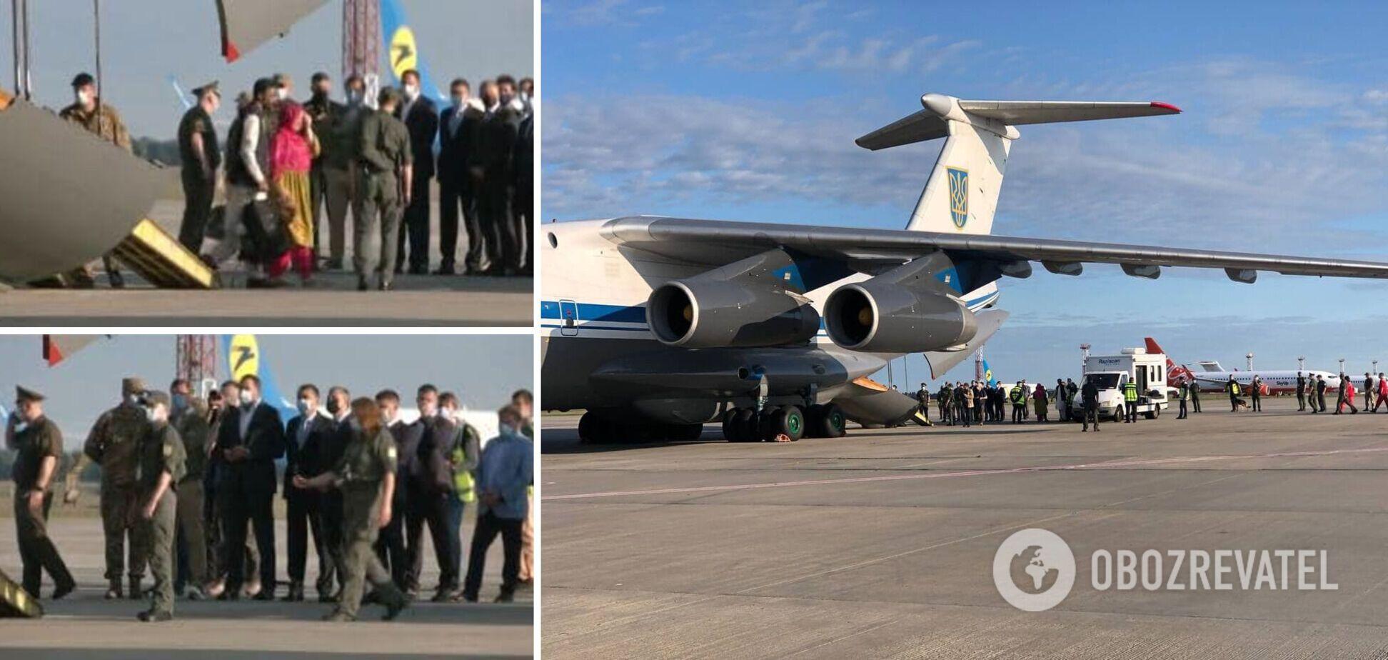 Захват украинского самолета в Кабуле