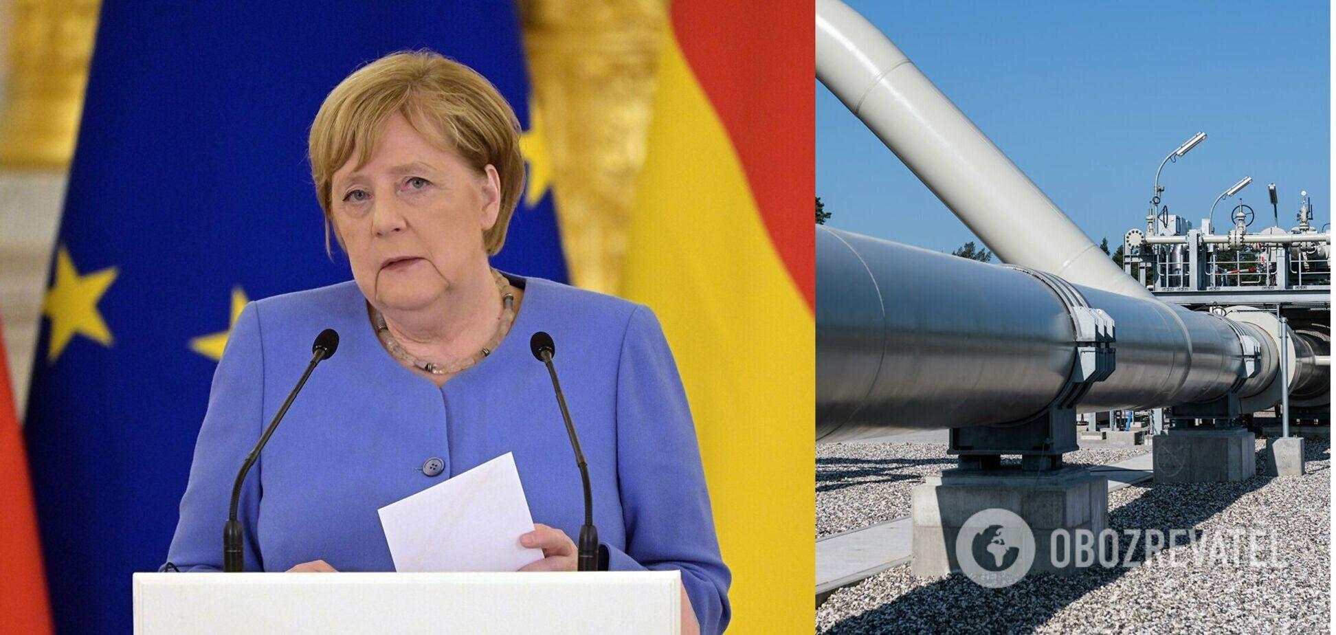 Меркель виступила за транзит газу Україною і пригрозила РФ новими санкціями