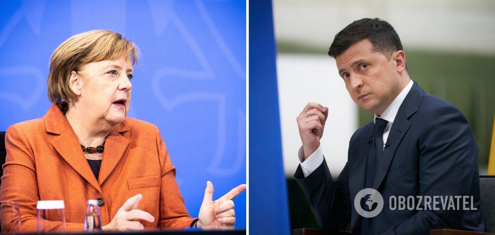 Меркель в аеропорту 'Бориспіль' не зустрічало керівництво держави
