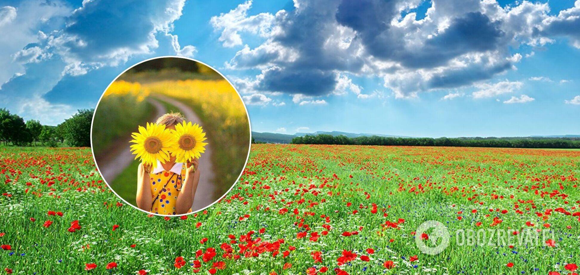 Украинцам 22 августа пообещали солнечную погоду. Карта