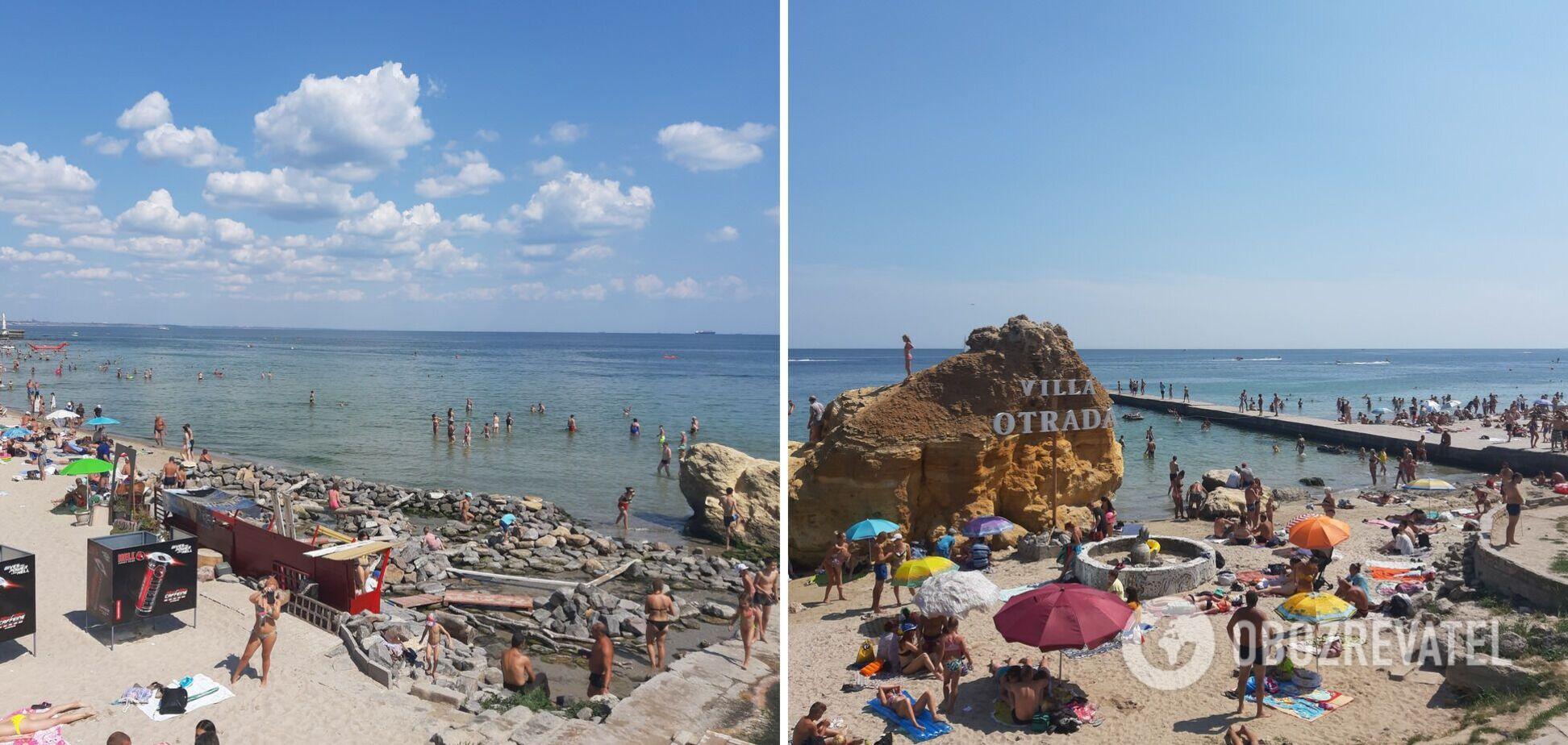 Відпочинок в Одесі 2021: яка вода в морі, чи є водорості, скільки туристів на пляжах. Фото