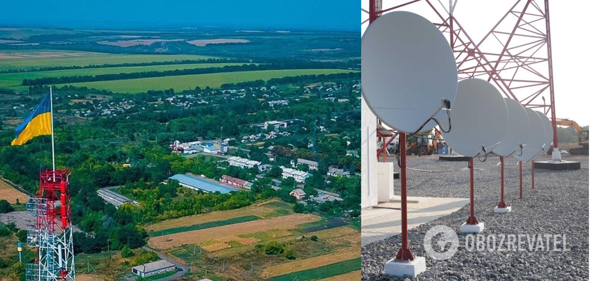 'Большая стройка': сигнал с новой телевышки на Луганщине будет достигать границы с Россией