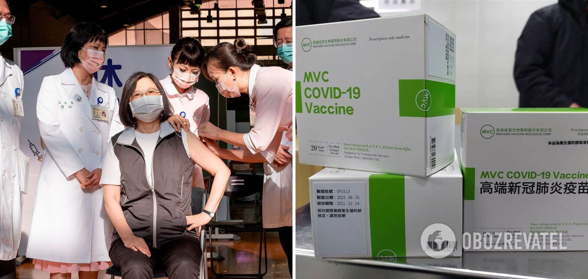 В Тайване начали вакцинировать против COVID-19 препаратом собственного производства