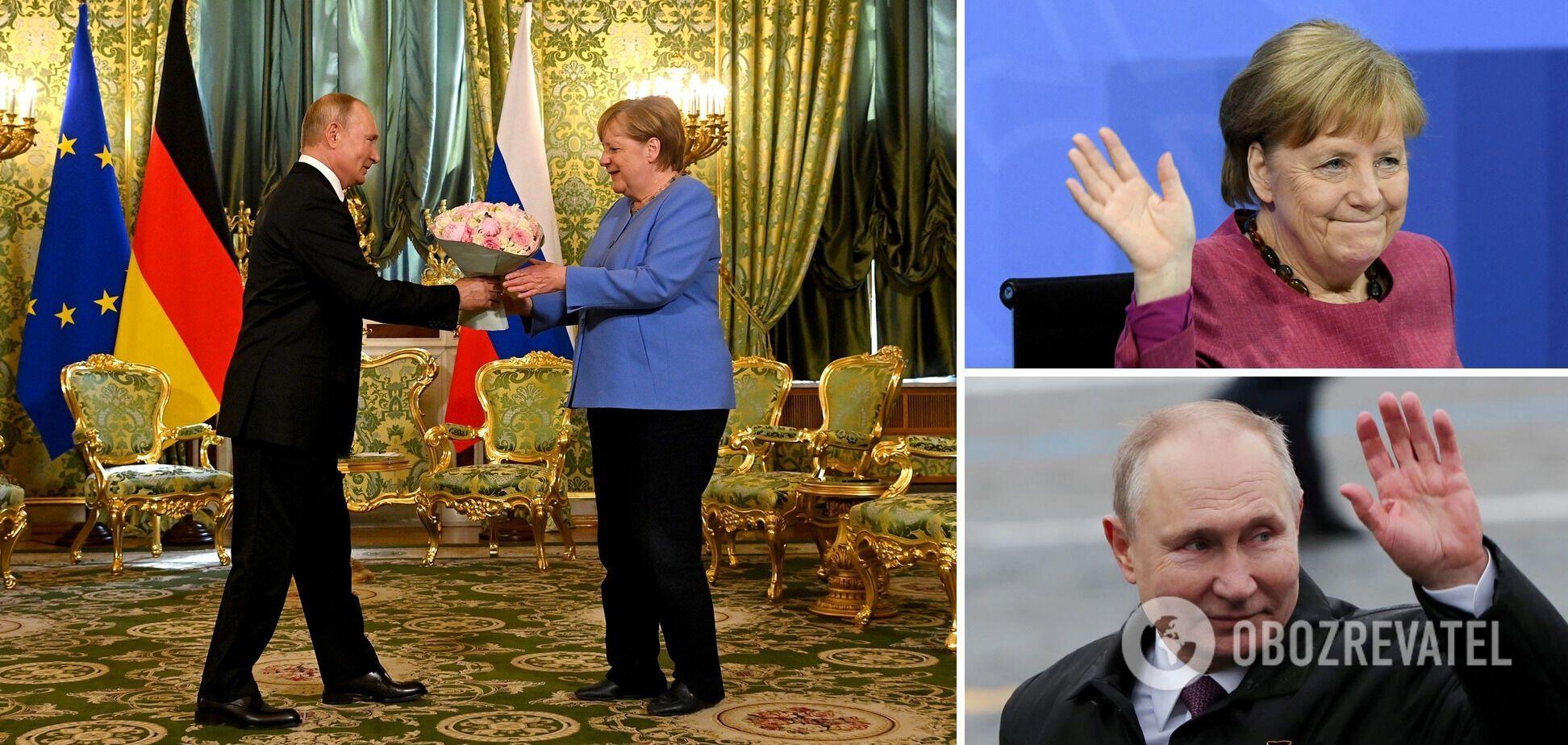 Прощание с Путиным: Меркель сделала все, что могла