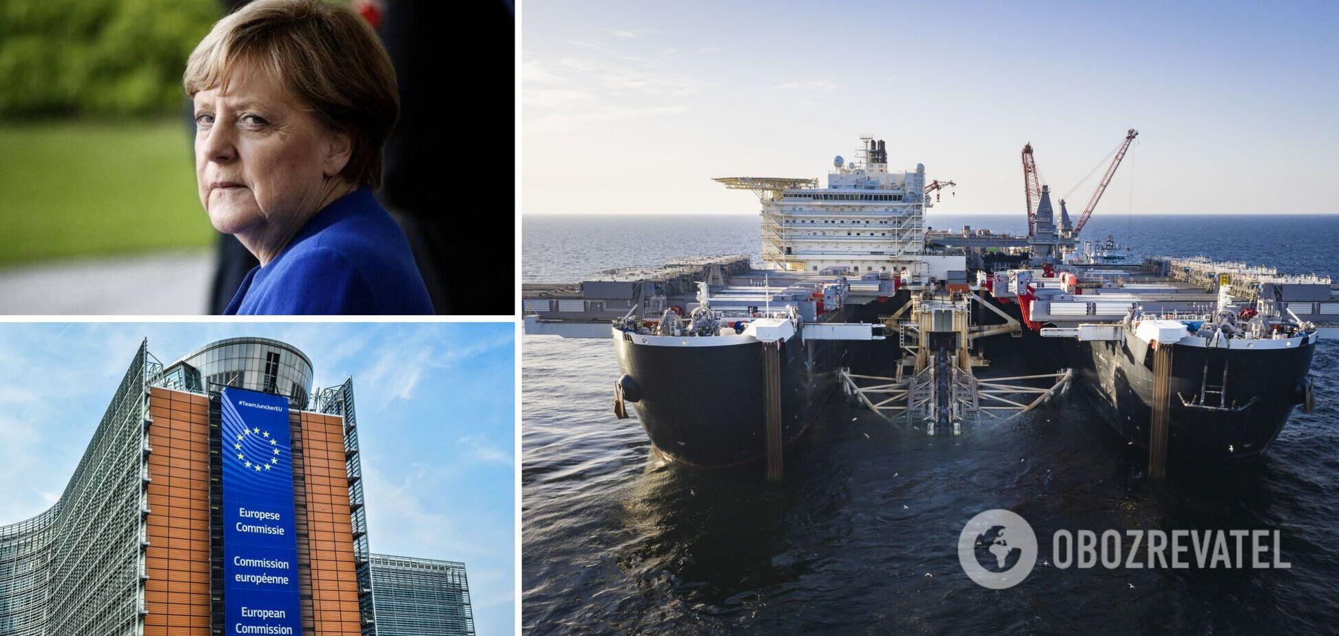 Єврокомісія та Меркель розійшлися в поглядах на 'Північний потік-2': віцепрезидент розкрив деталі