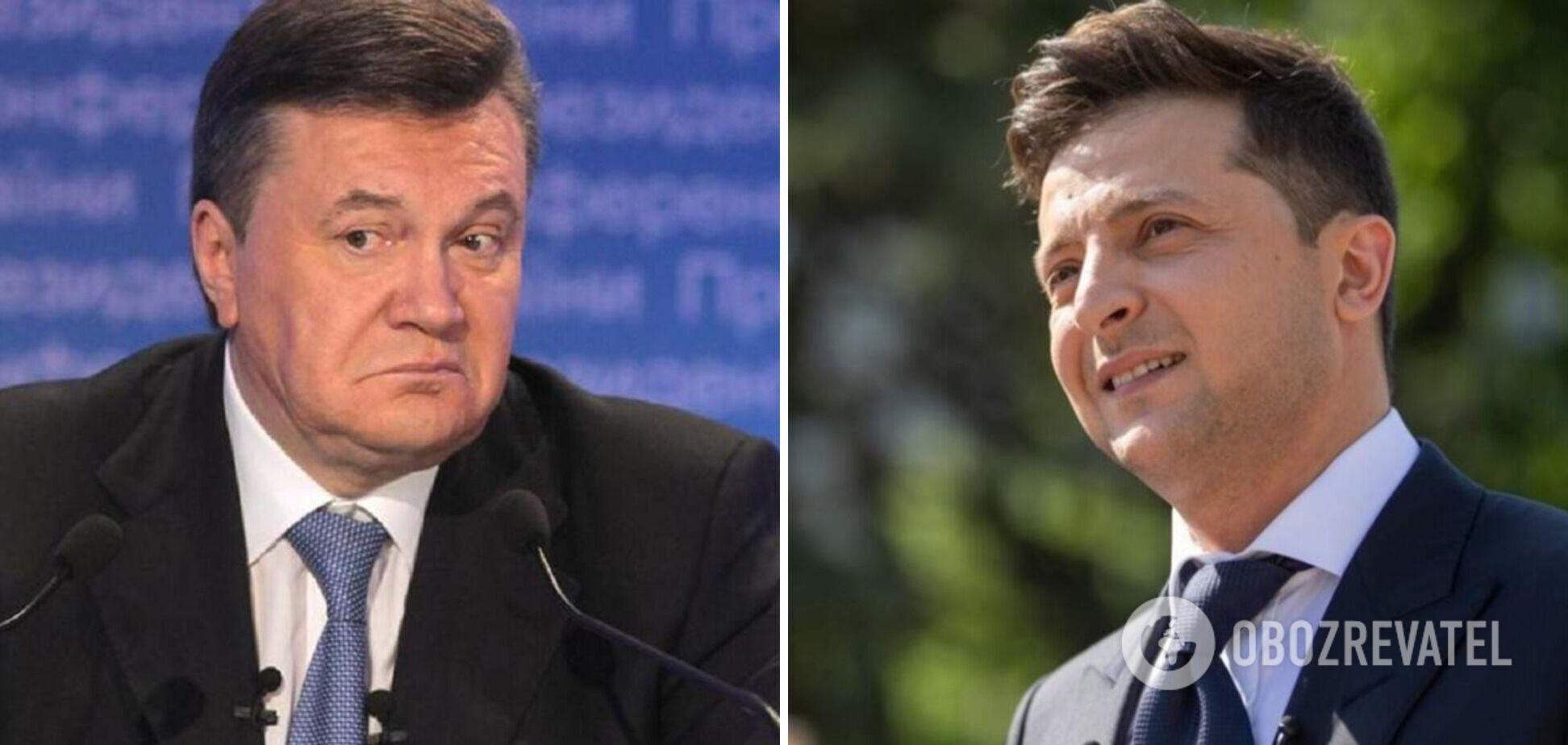 Зеленский потроллил Януковича в выступлении ко Дню Независимости. Видео