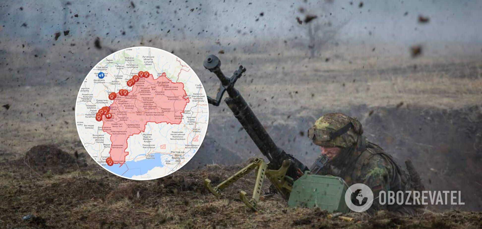 Окупанти на Донбасі відкрили вогонь по ЗСУ: один боєць загинув