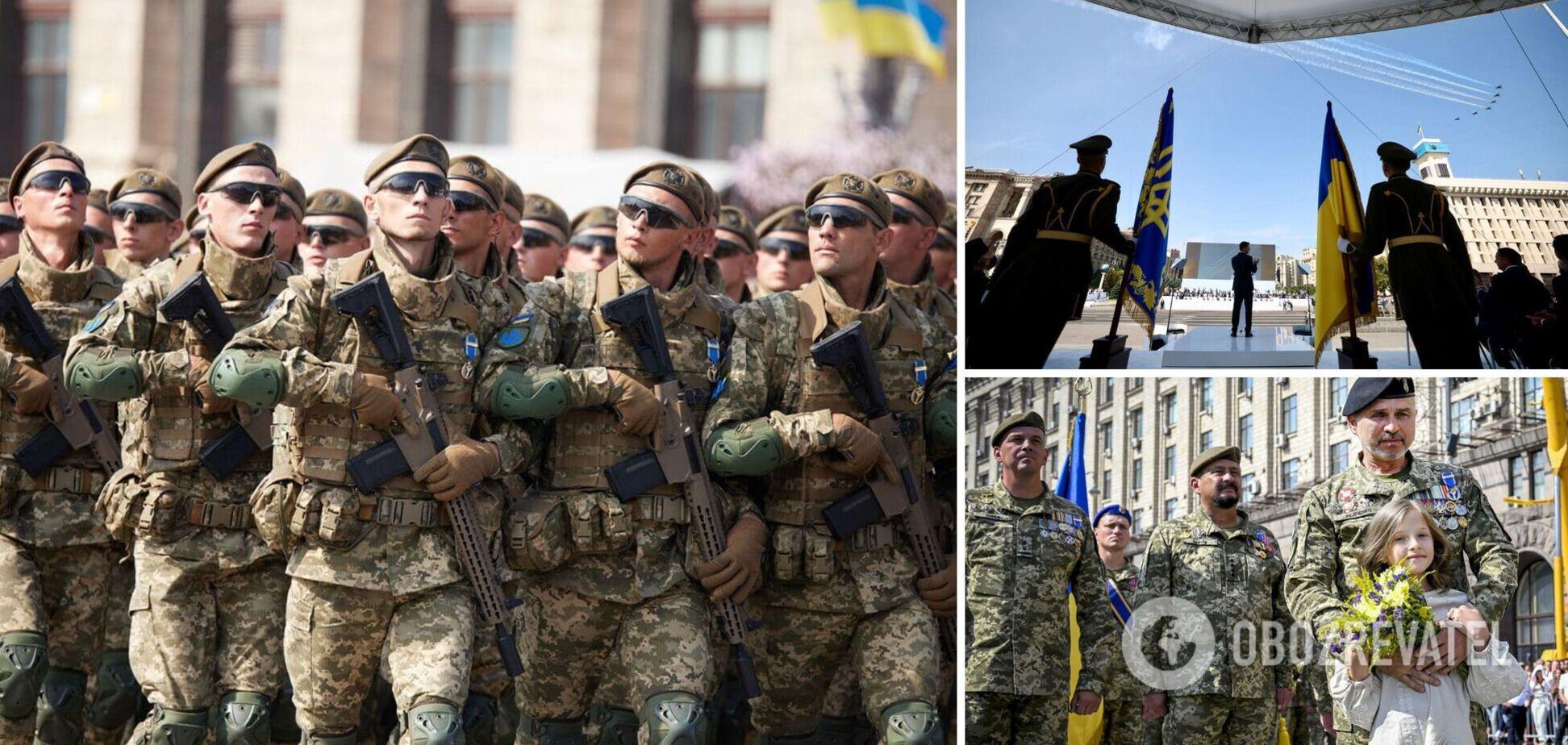 У Києві відбувся військовий парад за участю країн НАТО: фото, відео та всі подробиці