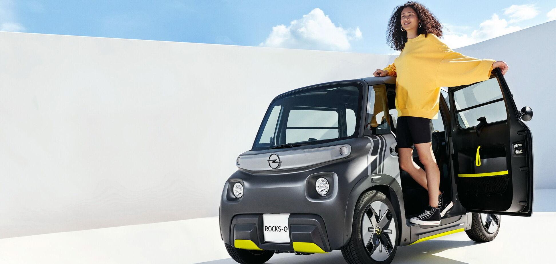 Opel показав міський електромобіль Rocks-e