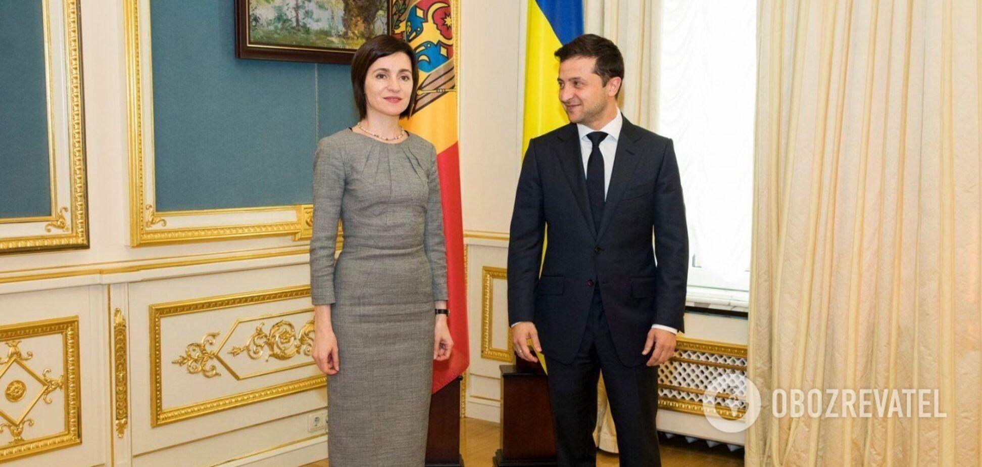 Зеленский посетит Молдову с официальным визитом: появились подробности