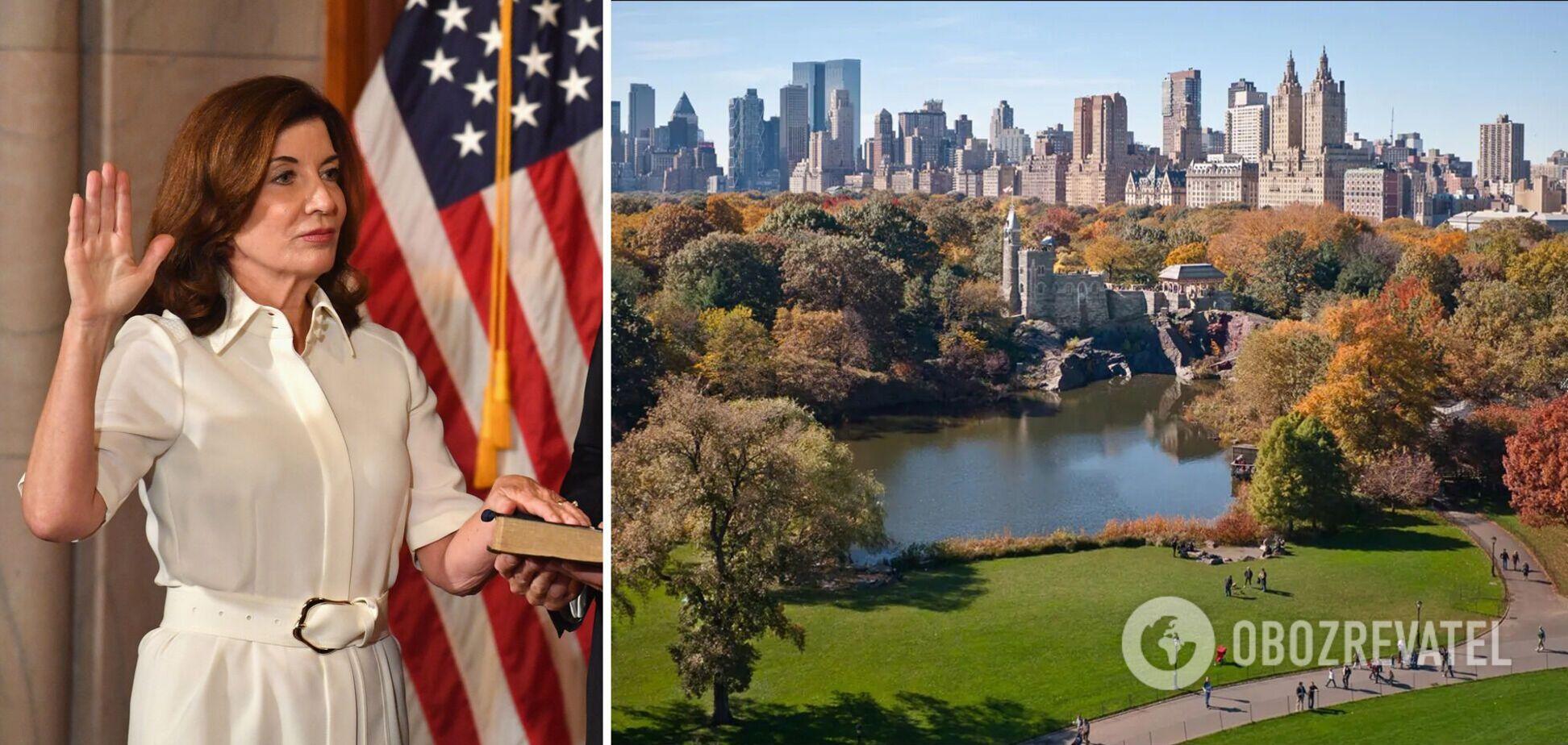 Кеті Хокул стала губернаторкою Нью-Йорка